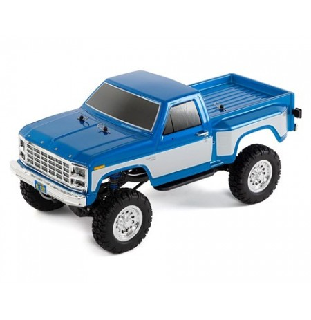 Team Associated CR12 Ford F-150 Truck RTR 1/12 4WD Rock Crawler (Blue)