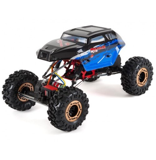 Redcat Rockslide RS10 XT 1/10 RTR 4WD Rock Crawler w/3-Channel 2.4GHz Radio (Blue)