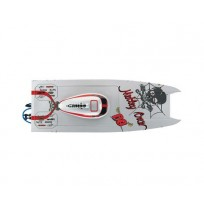 AquaCraft Motley Crew Brushless FE RTR Catamaran Boat w/2.4GHz Radio
