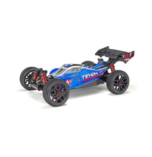 Arrma Typhon 6S BLX Brushless RTR 1/8 4WD Buggy (Blue/Silver)