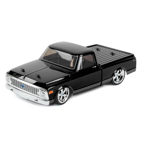 Vaterra 1972 Chevy C10 V100S RTR 1/10 4WD Electric Pickup Truck (Black)
