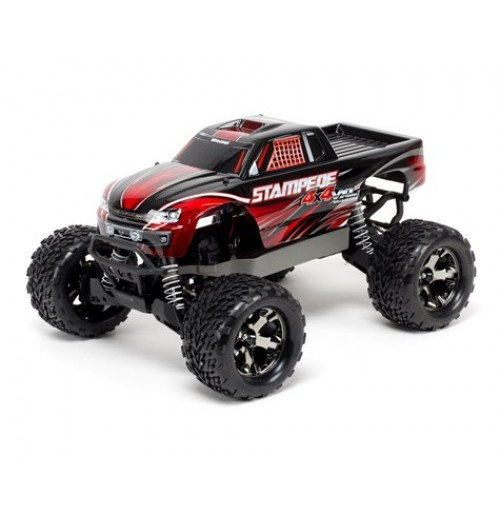 Traxxas Stampede 4X4 VXL (Red) Brushless 1/10 4WD RTR Monster Truck (Red)