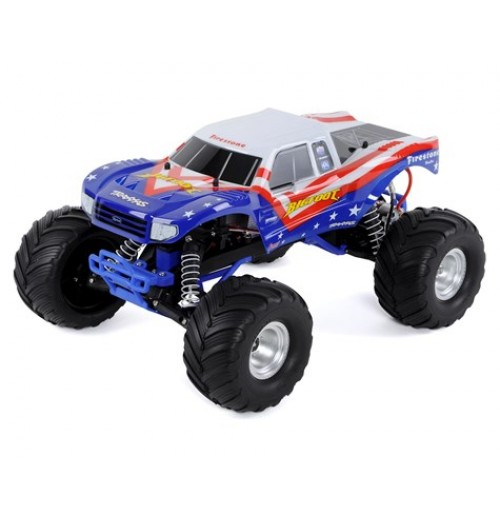 Traxxas Bigfoot 1/10 RTR Monster Truck (Red, White & Blue)