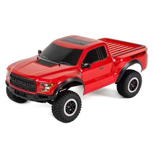 Traxxas 2017 Ford Raptor RTR Slash 1/10 2WD Truck (Red)
