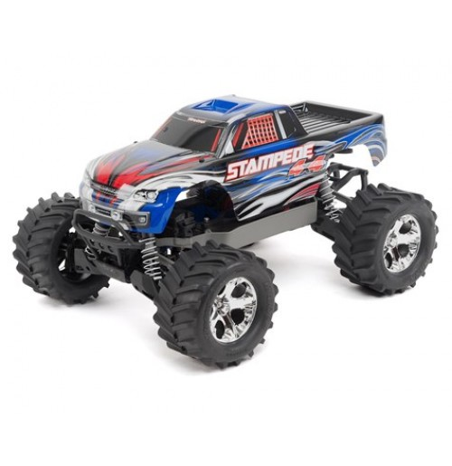 Traxxas Stampede 4X4 LCG 1/10 RTR Monster Truck (Blue)