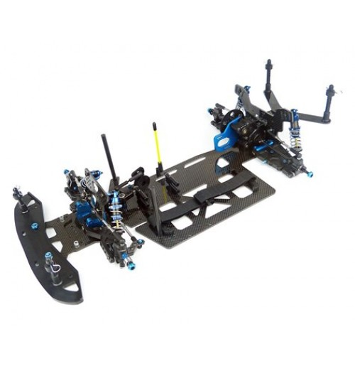 Custom Works Intimdator 7 Gearbox 1/10th Electric Latemodel Dirt Oval Kit