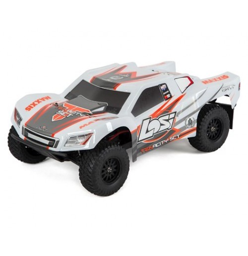 Losi Tenacity SCT RTR 1/10 4WD Short Course Truck (White/Orange)