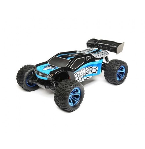 Losi TENACITY 1/10 RTR 4WD Brushless Truggy (Blue/Black)