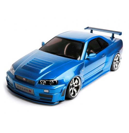 MST MS-01D 1/10 Scale 4WD Brushless RTR Drift Car w/Nissan R34 GT-R Body