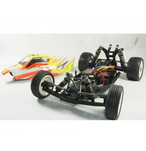 SWorkz S12-1R US Edition 1/10 2WD Mid Motor Electric Buggy Kit
