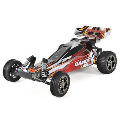 Traxxas Bandit VXL Brushless 1/10 RTR 2WD Buggy (Red)