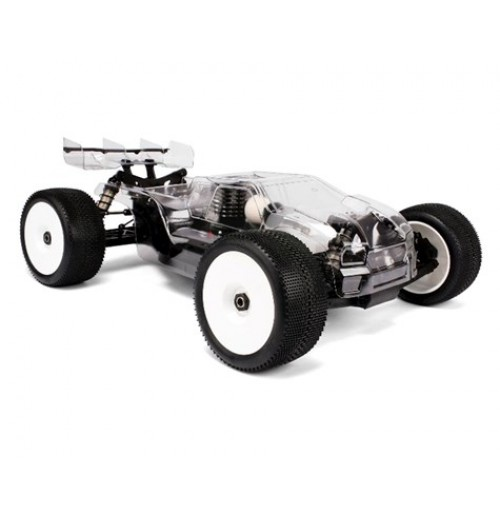 HB Racing D817T Pro 1/8 4WD Off-Road Nitro Truggy Combo