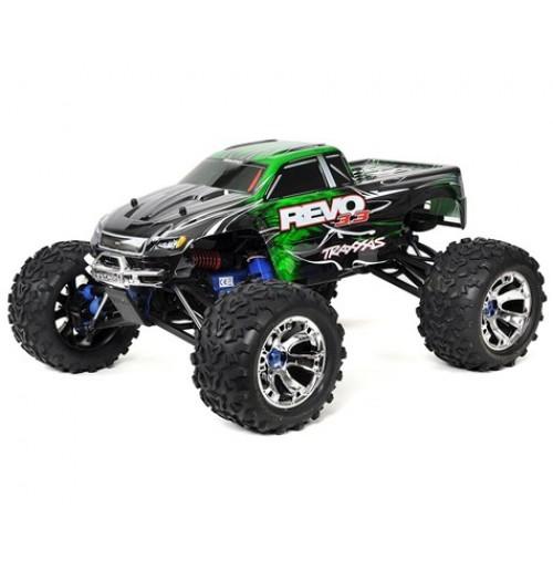 Traxxas Revo 3.3 4WD RTR Nitro Monster Truck w/TQi (Green)