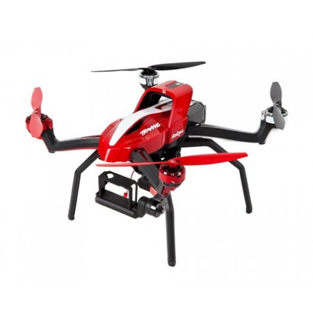 Traxxas Aton Plus Quadcopter Drone w/2.4GHz Radio, 2 Axis Gimbal, Battery & Charger