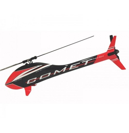 SAB Goblin Mini Comet Electric Helicopter Kit (Black/Red)