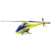 SAB Goblin 380 Flybarless Electric Helicopter Kit w/Blades (Yellow/Blue)