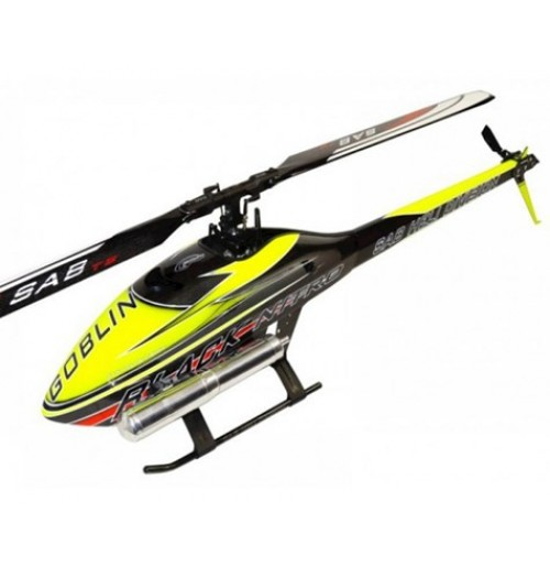 SAB Goblin Black Nitro 700 Flybarless Helicopter Kit (Yellow)