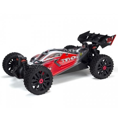 Arrma Typhon 3S BLX Brushless RTR 1/8 4WD Buggy (Black/Red)