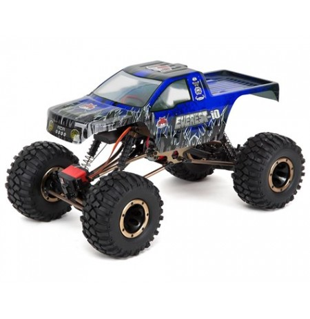 Redcat Everest-10 1/10 4WD RTR Electric Rock Crawler w/2.4GHz Radio (Blue)