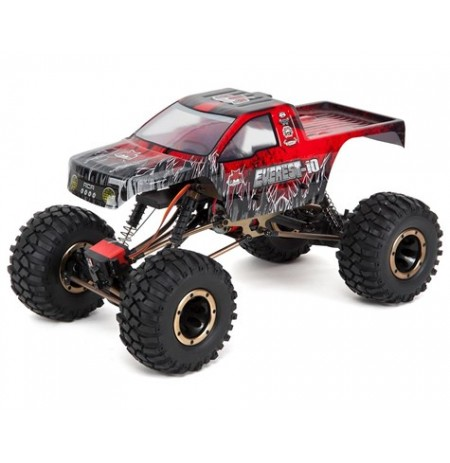 Redcat Everest-10 1/10 4WD RTR Electric Rock Crawler w/2.4GHz Radio (Red)